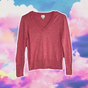 A NEW DAY V NECK WOMENS FASHION SWEATER